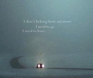 car, quote, and sad image
