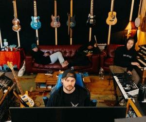 guitars, music, and calum hood image