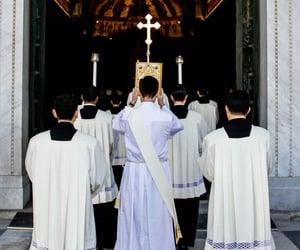 Catholic, catholicism, and priest image
