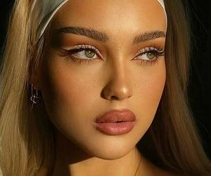 aesthetic, blush, and eyes image