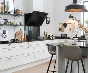 apartment, cook, and design image