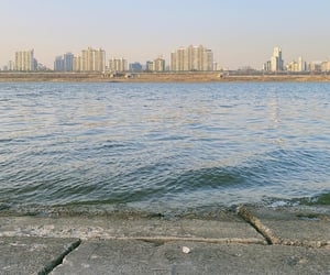 han river, river, and 서울 image