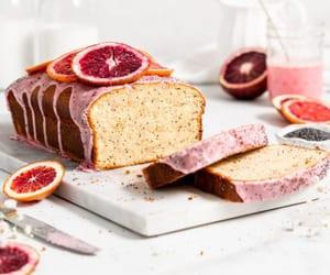 blood orange, cake, and dessert image