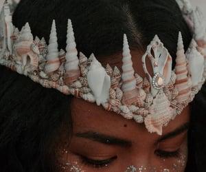 aesthetic, crowns, and mermaid aesthetic image