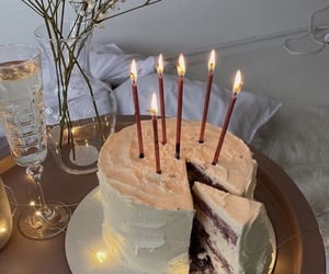 cake, food, and birthday image
