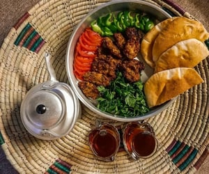 food, iraq, and middle eastern image