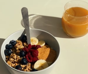 breakfast, healthy, and morning image