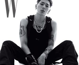 magazine, black and white, and photoshoot image
