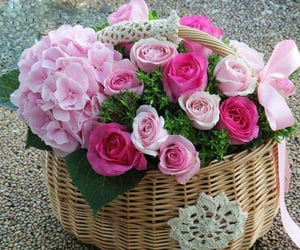 flowers, for you, and gift image