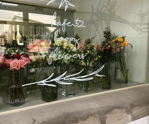 flowers, aesthetic, and shop image
