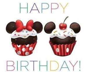cupcake, disney, and birthday image