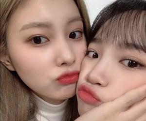 hyewon, chaewon, and izone image