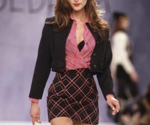 90s, fashion show, and model image