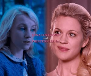 harry potter, luna lovegood, and merlin image
