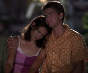 couple, pacey witter, and dawson's creek image