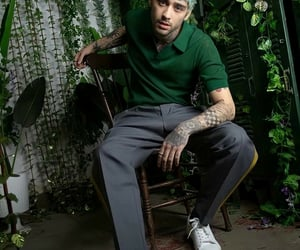 boys, green, and Tattoos image