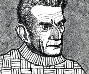 author, caricature, and dublin image