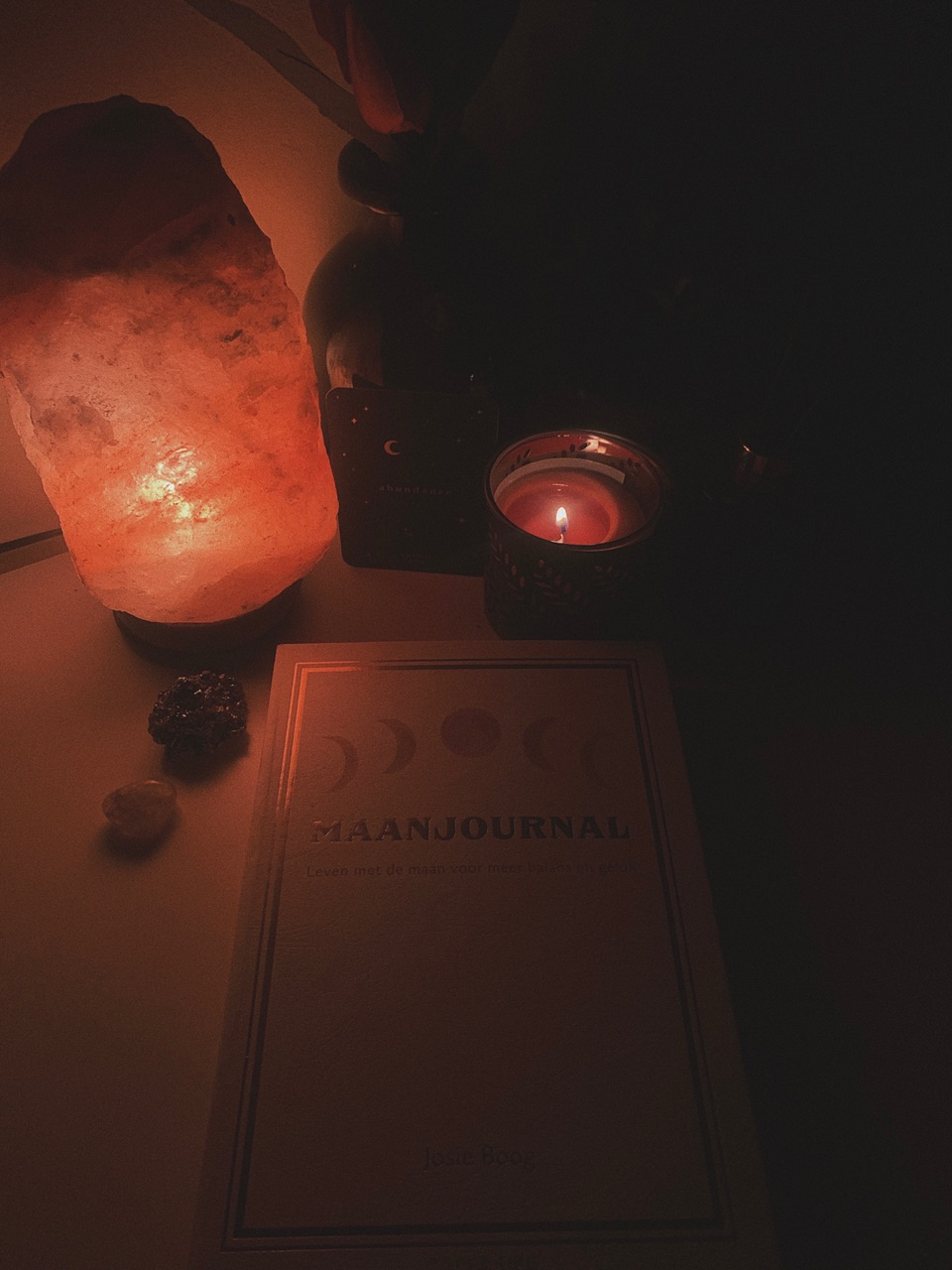 candle, moon, and moonchild image