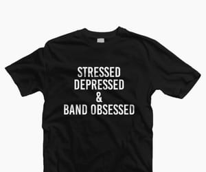 and, depressed, and band image