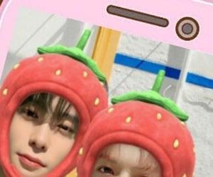 nct 127 header, taeyong messy, and jaehyun messy image