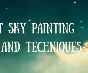arts, nightsky, and guide image