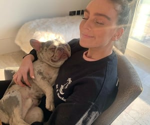 perrie edwards, beautiful, and dog image
