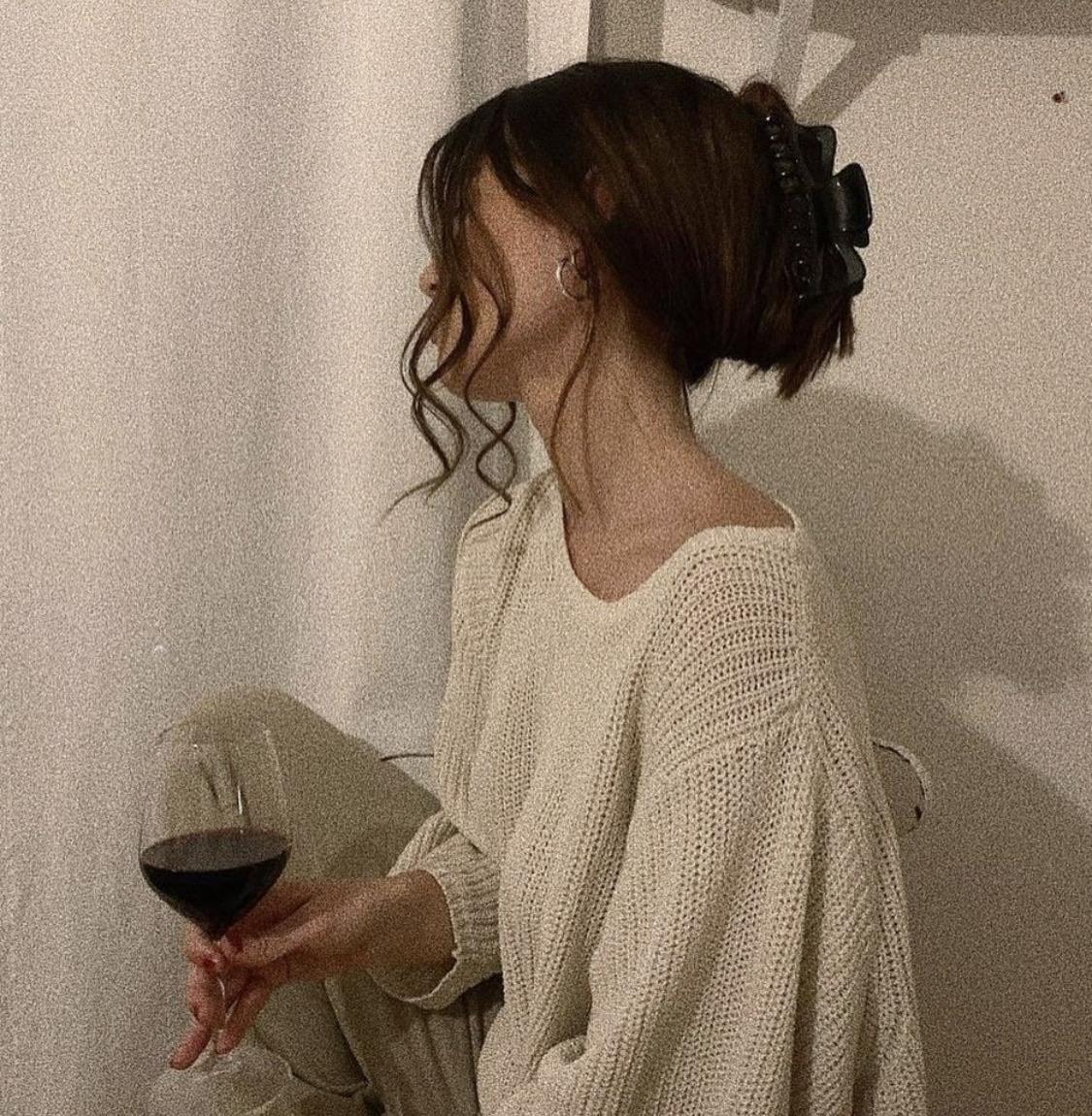 wine, style, and fashion image