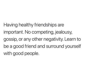 friendship, quote, and healthy image