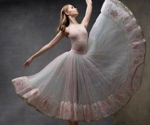 bailarina, belleza, and elegancia image