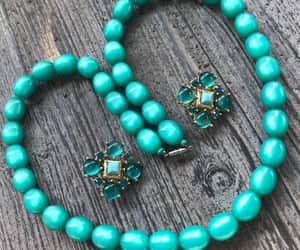 etsy, vintage jewelry, and rhinestone jewelry image