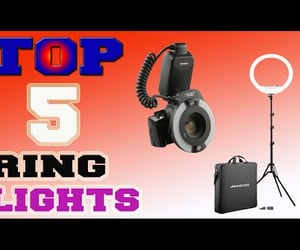 best ring lights, best ring light, and the best ring lights image