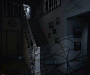 alone, dark, and interior image