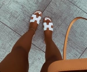 hermes and sandals image