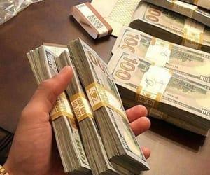 cash, money, and dollar image