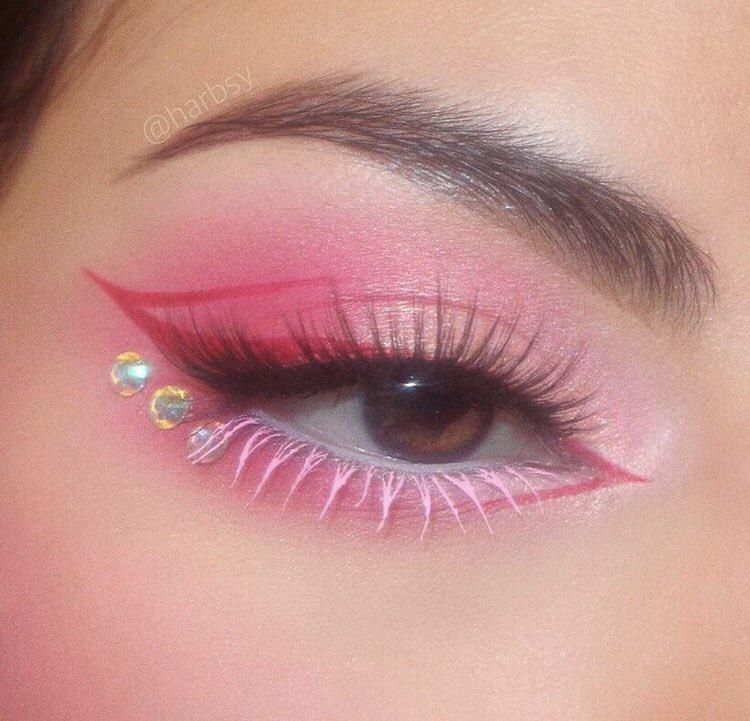 beauty, eye, and style image