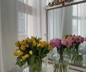 flowers, aesthetics, and bedroom image