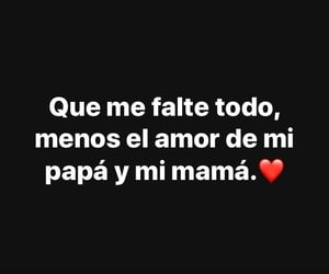 mama, papa, and amor image