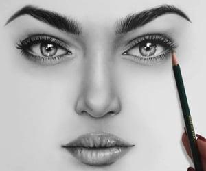 arte, rostro, and belleza image