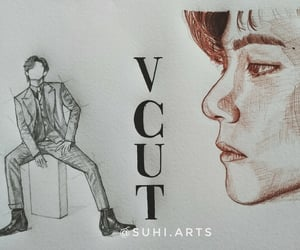 aesthetic, vcut, and bts v image