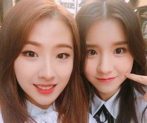 heejin, loona, and haseul image