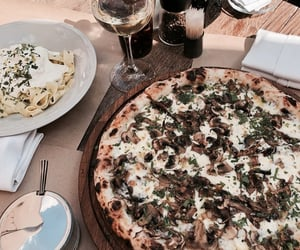 pizza, food, and pasta image