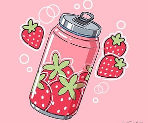 aesthetic, cherries, and pink image