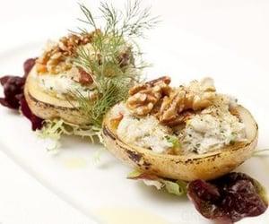 crab, food, and walnuts image