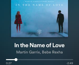 in the name of love, bebe rexha, and martin garrix image