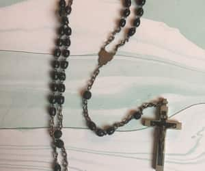 etsy, rosary necklace, and prayer beads image