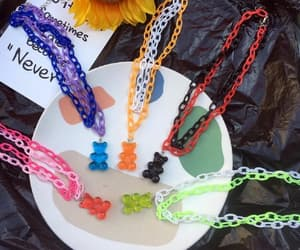 bears, choker, and necklace image