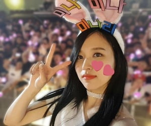 aesthetic, mina, and concert image