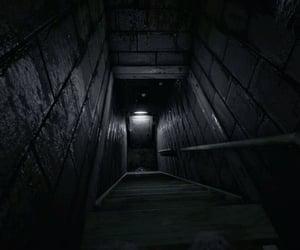 door, down, and eerie image