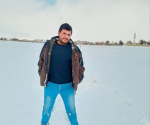 winter, ثلج, and nasrallah harmoush image