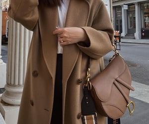 bag, coat, and dior image